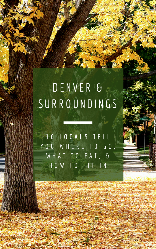 Denver - unconventional guides