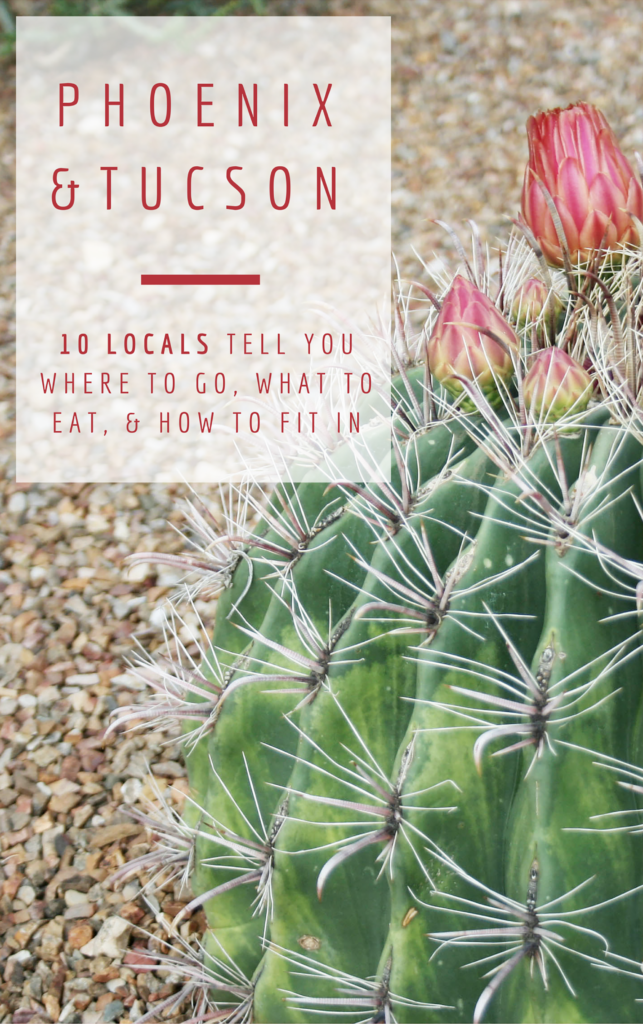 Phoenix and Tucson - unconventional guides