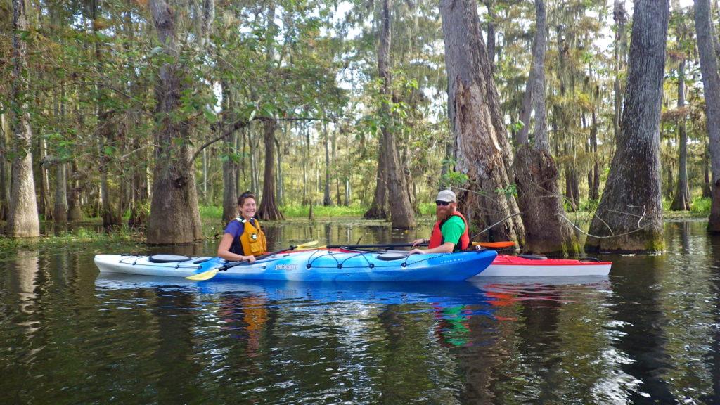 Kayaking Louisiana