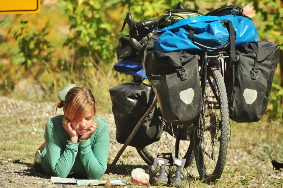 How to Pack Up, Take Off, & Explore the World By Bike With Shirine Taylor