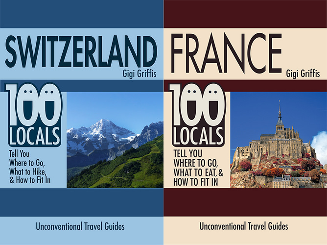 Switzerland & France, Coming to a Bookstore Near You