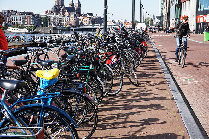 Two Weeks in Amsterdam: A Tale of the Bicycle Mafia, Plastic Neighbors, & Circus School