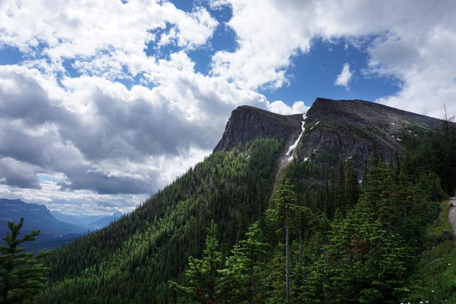 Walking the World: Saddleback Pass, Lake Louise, Banff National Park