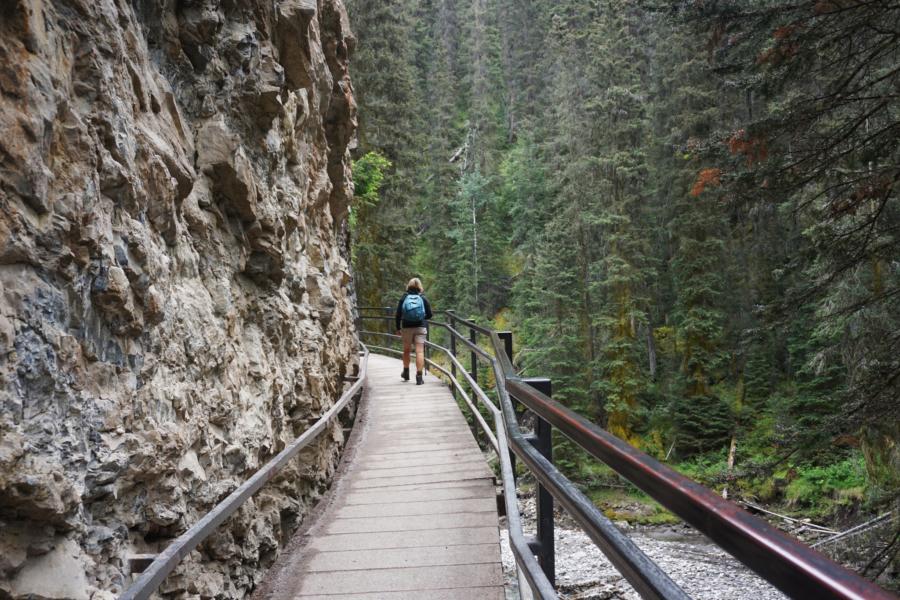 Walking the World: Johnston Canyon, Banff National Park, Canada