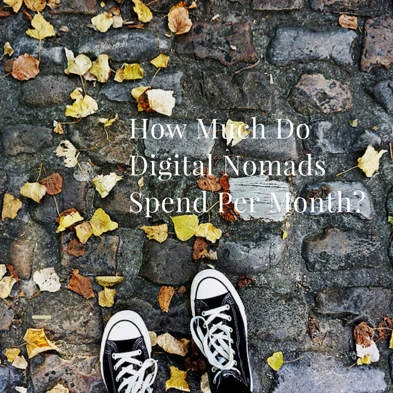 How much do digital nomads spend
