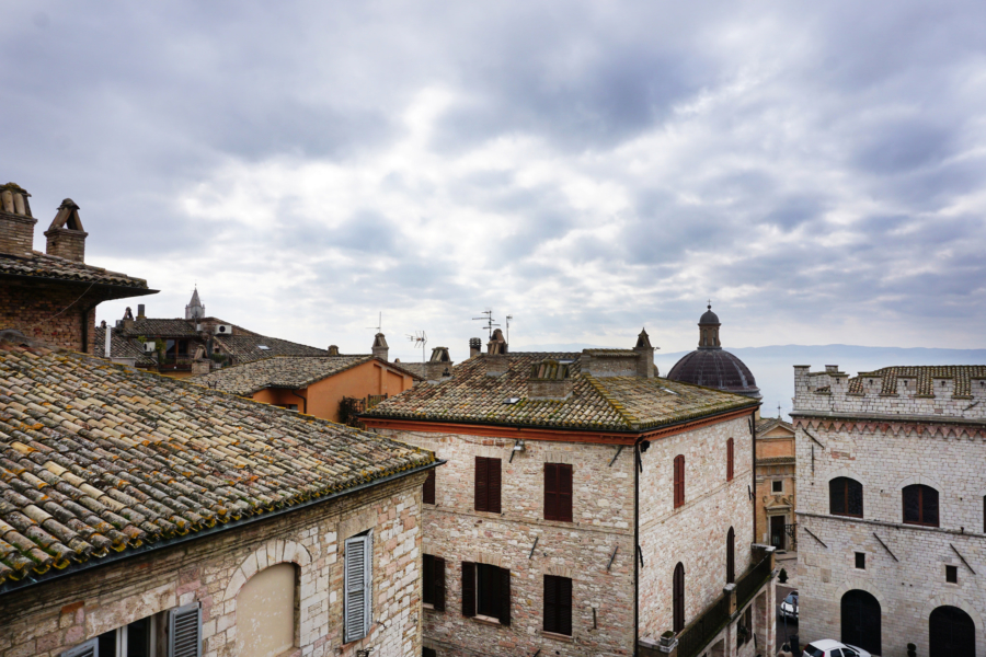 Beautiful Spaces: Where We Stayed in Assisi, Italy