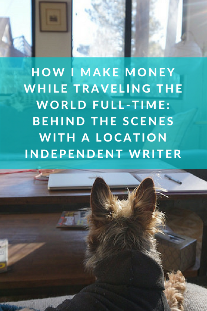 How I make money while traveling full-time