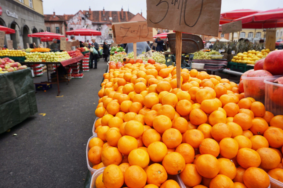 Zagreb's Dolac Fresh Market: A Photo Essay