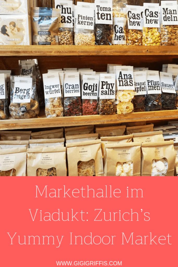 Zurich's viaduct market