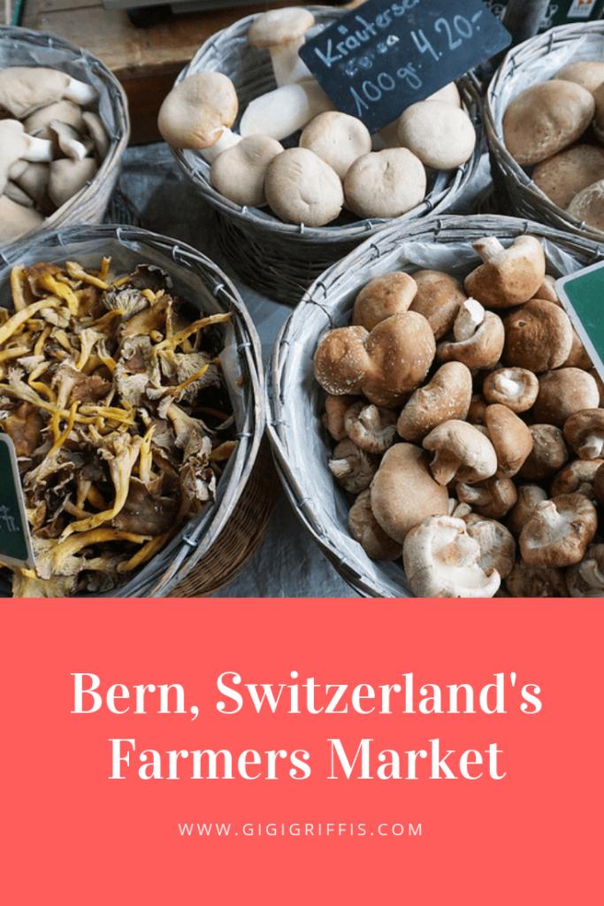 Bern farmers market