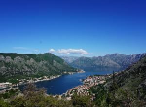 Hiking the Ladder of Kotor, Montenegro