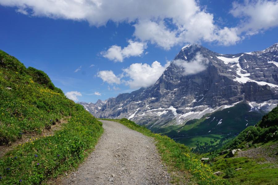 Hiking the Alps: Trümmelbach – Wengernalp – Kleine Scheidegg – Männlichen